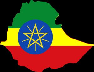 Ethiopia_flag_map