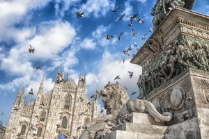 Milan Cathedral and monument